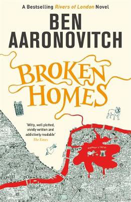 Picture of Broken Homes: The Fourth Rivers of London novel