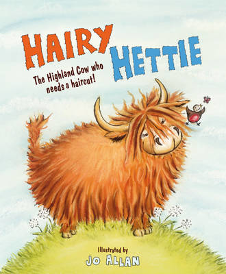 Picture of Hairy Hettie: The Highland Cow Who Needs a Haircut!
