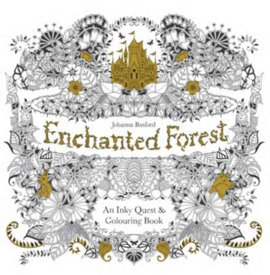 Picture of Enchanted Forest: An Inky Quest & Colouring Book