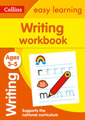 Picture of Writing Workbook Ages 3-5: Prepare for Preschool with easy home learning (Collins Easy Learning Preschool)