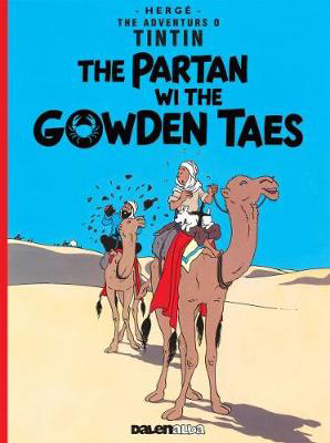Picture of Tintin: The Partan Wi the Gowden (Scots)