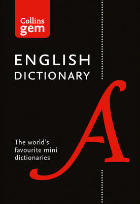 Picture of English Gem Dictionary: The world's favourite mini dictionaries (Collins Gem)