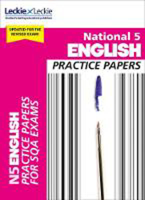 Picture of Practice Papers for SQA Exam Revision - National 5 English Practice Papers for New 2019 Exams: Prelim Papers for SQA Exam Revision