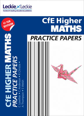 Picture of Practice Papers for SQA Exam Revision - Higher Maths Practice Papers: Prelim Papers for SQA Exam Revision