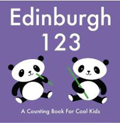 Picture of Edinburgh 123: A Counting Book for Cool Kids