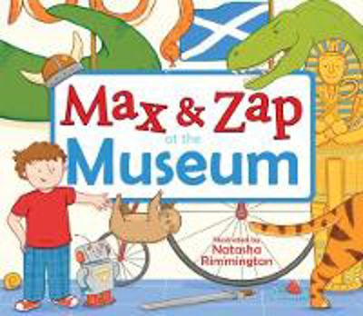 Picture of Max and Zap at the Museum