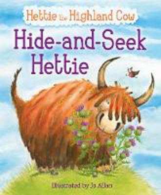 Picture of Hide-and-Seek Hettie: The Highland Cow Who Can't Hide!