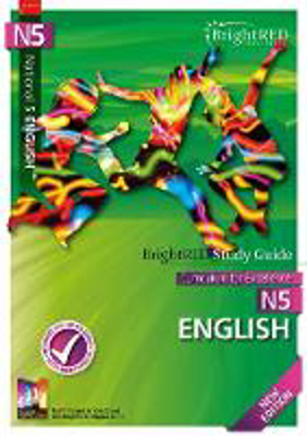 Picture of BrightRED Study Guide National 5 English - New Edition
