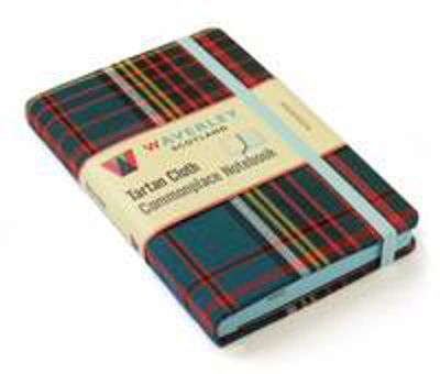 Picture of Anderson: Waverley Genuine Tartan Cloth (9cm x 14cm) Pocket Format Commonplace Notebook
