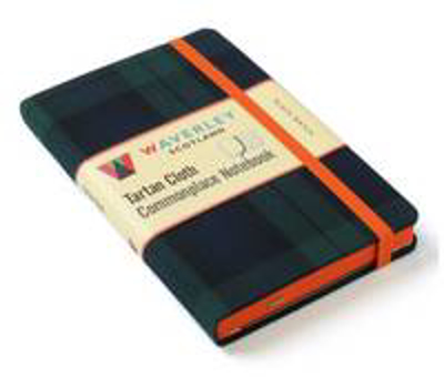 Picture of Black Watch: Waverley Genuine Tartan Cloth Commonplace Notebook (9cm x 14cm)