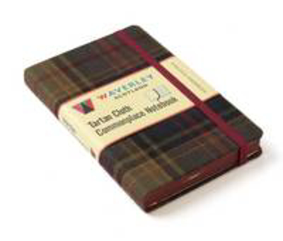 Picture of Kinloch Anderson: Waverley Genuine Tartan Cloth Commonplace Notebook (9cm x 14cm)