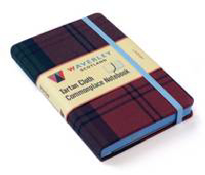 Picture of Lindsay: Waverley Genuine Tartan Cloth Commonplace Notebook (9cm x 14cm)