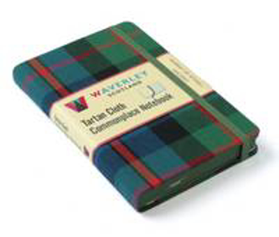 Picture of Murray of Atholl Ancient: Waverley Genuine Tartan Cloth Commonplace Notebook (9cm x 14cm)