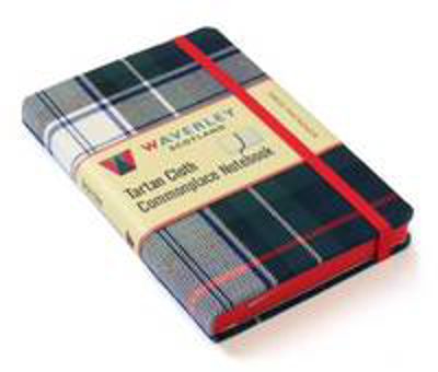Picture of Waverley Genuine Tartan Cloth Commonplace Notebook (9cm x 14cm): Dress Mackenzie