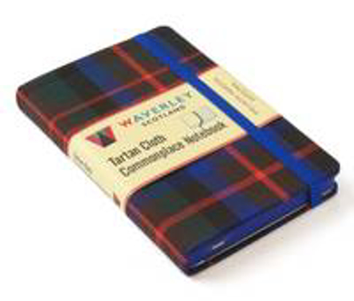 Picture of MacDuff Modern Hunting: Waverley Genuine Tartan Cloth Commonplace Notebook (9cm x 14cm)