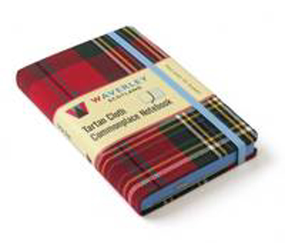 Picture of MacLean of Duart: Waverley Genuine Tartan Cloth Commonplace Notebook (9cm x 14cm)