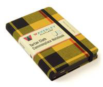 Picture of MacLeod of Lewis: Waverley Genuine Tartan Cloth Commonplace Notebook (9cm x 14cm)
