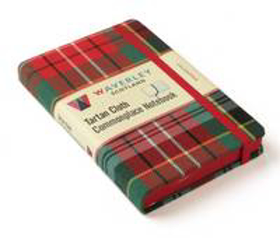 Picture of Caledonia: Waverley Genuine Tartan Cloth Commonplace Notebook (9cm x 14cm)
