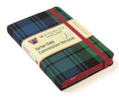 Picture of Campbell Ancient: Waverley Genuine Tartan Cloth Commonplace Notebook (9cm x 14cm)