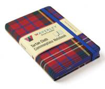 Picture of MacPherson Red: Waverley Genuine Tartan Cloth Commonplace Notebook (9cm x 14cm)