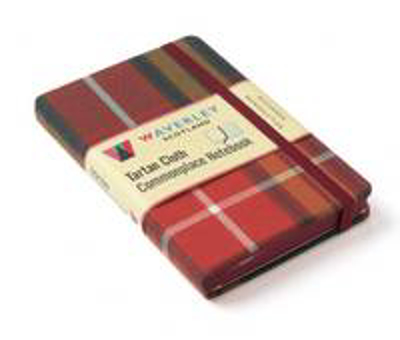 Picture of Buchanan Reproduction: Waverley Genuine Tartan Cloth Commonplace Notebook (9cm x 14cm)