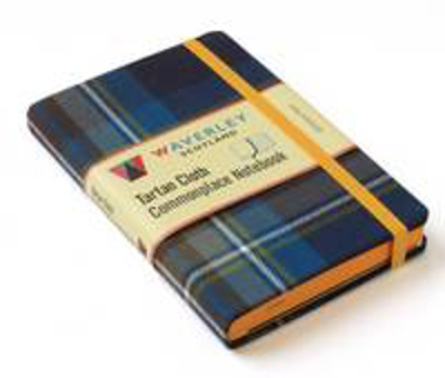 Picture of Holyrood: Waverley Genuine Tartan Cloth Commonplace Notebook