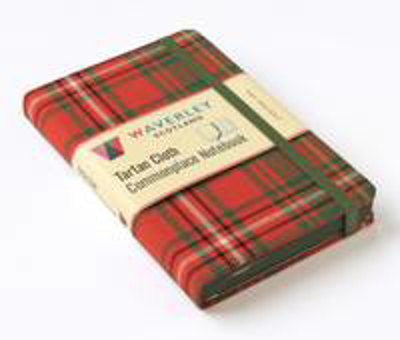 Picture of Hay Ancient: Waverley Genuine Tartan Cloth Commonplace Notebook: 32