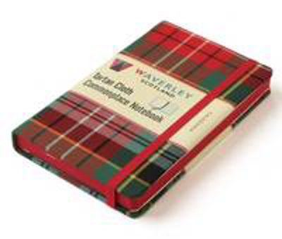 Picture of Waverley Scotland Large Tartan Cloth Commonplace Notebook - Caledonia Tartan