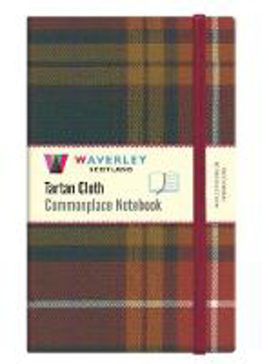 Picture of Waverley (L): Buchanan Reproduction Tartan Cloth Large Notebook