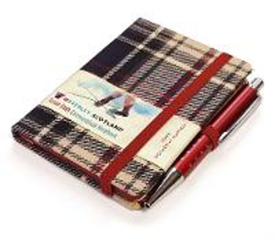 Picture of Dress Tartan Notebook: Mini with Pen: 10.5 x 7.5cm: Scottish Traditions: Waverley Genuine Tartan Cloth Commonplace Notebook