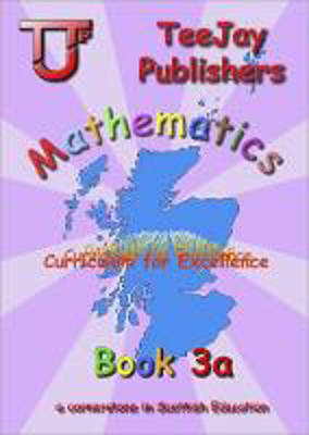 Picture of TeeJay Mathematics CfE Level 3 Book a