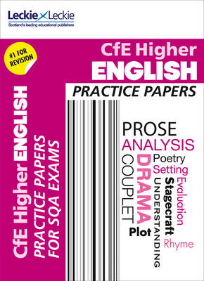 Picture of Practice Papers for SQA Exam Revision - Higher English Practice Papers: Prelim Papers for SQA Exam Revision