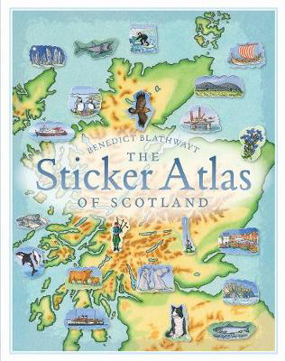 Picture of The Sticker Atlas of Scotland