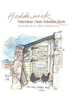Picture of Hebridean Desk Address Book
