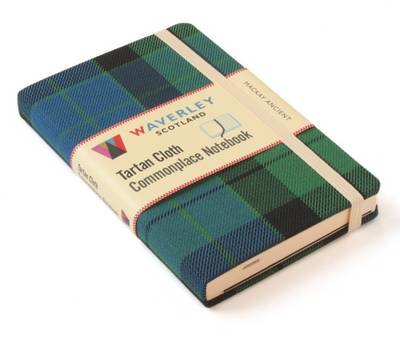 Picture of Mackay Ancient: Waverley Genuine Tartan Cloth Commonplace Notebook