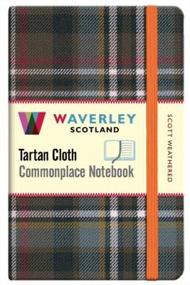 Picture of Scott Weathered: Waverley Genuine Tartan Cloth Commonplace Notebook (9cm x 14cm)