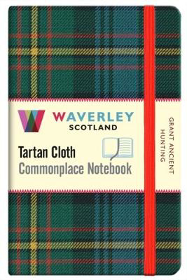 Picture of Grant Ancient Hunting:: Waverley Genuine Tartan Cloth Commonplace Pocket Notebook (9cm x 14cm)