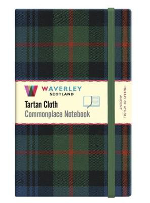 Picture of Murray of Atholl:: Waverley Genuine Tartan Cloth Commonplace Large Notebook (21cm x 13cm)