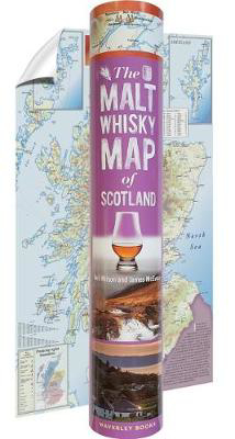 Picture of The Malt Whisky Map of Scotland (in a tube)
