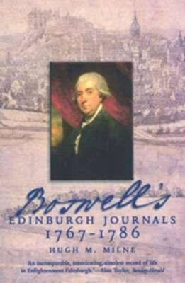 Picture of Boswell's Edinburgh Journals: 1767-1786