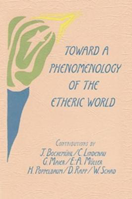 Picture of Toward a Phenomenology of the Etheric World: Investigations into the Life of Nature and Man