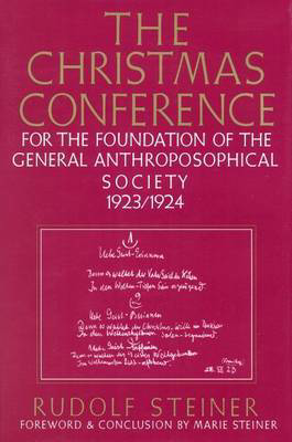 Picture of The Christmas Conference for the Foundation of the General Anthroposophical Society, 1923-24