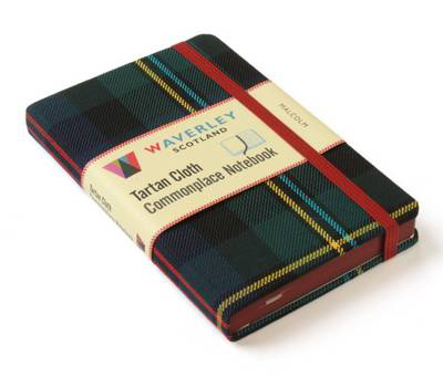 Picture of Waverley (M): Malcolm Tartan Cloth Commonplace Notebook