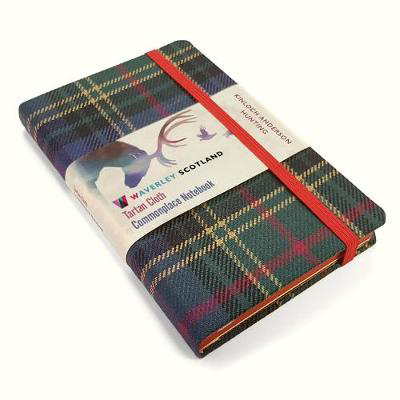 Picture of Waverley S.T. (M): Hunting Pocket Genuine Tartan Cloth Commonplace Notebook