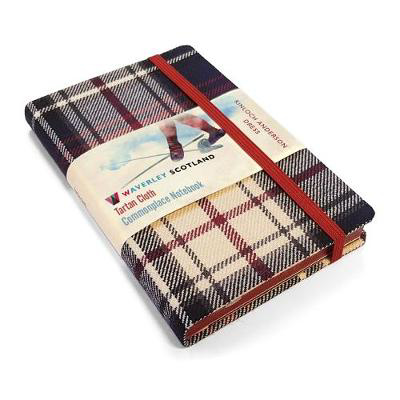 Picture of Waverley S.T. (M): Dress Pocket Genuine Tartan Cloth Commonplace Notebook
