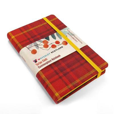 Picture of Waverley S.T. (M): Rowanberry Pocket Genuine Tartan Cloth Commonplace Notebook