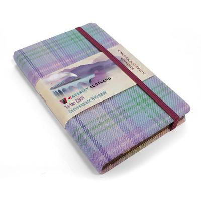 Picture of Waverley S.T. (M): Romance Pocket Genuine Tartan Cloth Commonplace Notebook