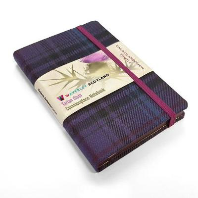 Picture of Thistle Tartan: Pocket: 14 x 9cm: Scottish Traditions: Waverley Genuine Tartan Cloth Commonplace Notebook
