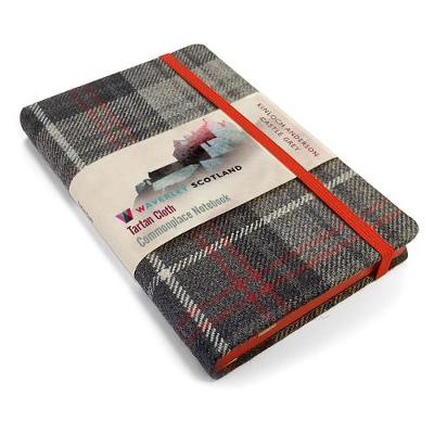 Picture of Waverley S.T. (M): Castle Grey Pocket Genuine Tartan Cloth Commonplace Notebook