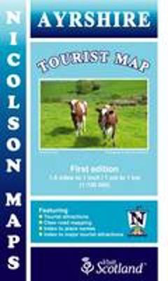 Picture of Nicolson Tourist Map Ayrshire